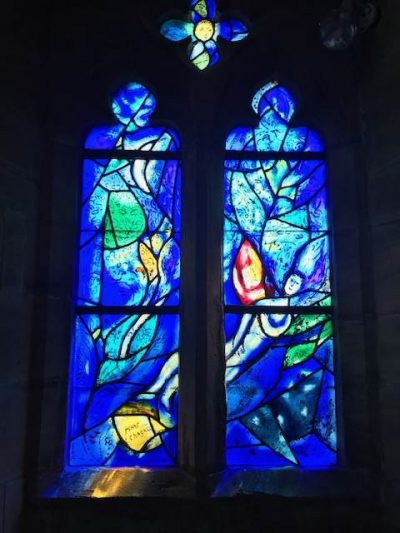 The east window installed 1967