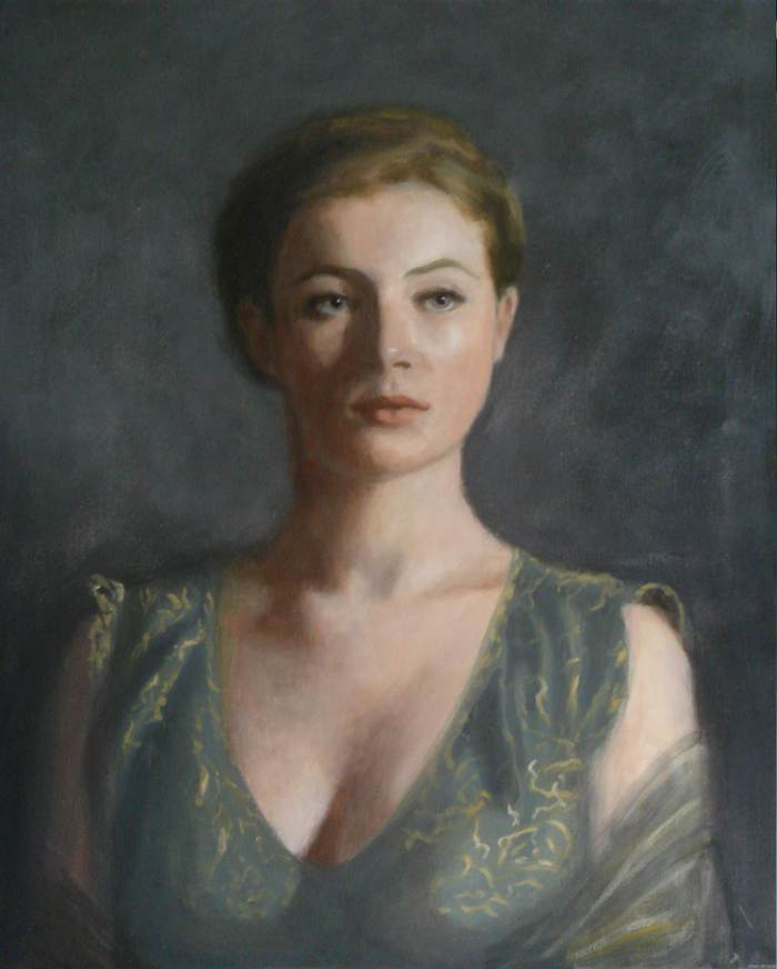 Louisa, Oil on canvas, 60 x 50cm, 2009