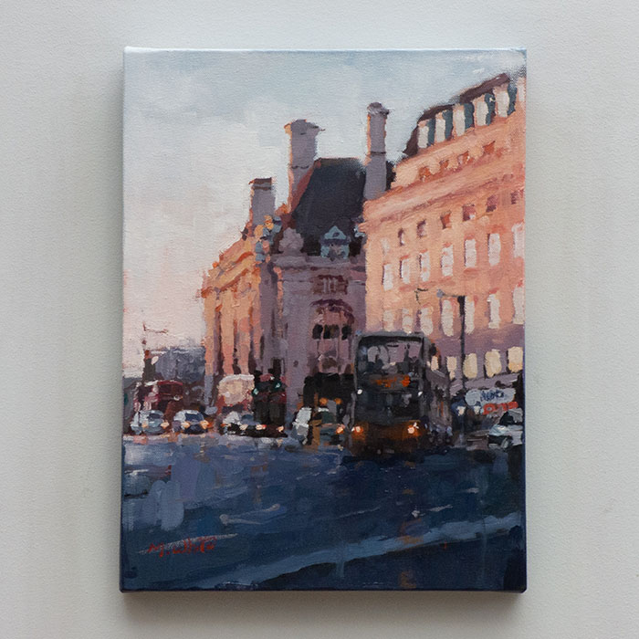 WESTMINSTER by MAX WHITE 40cm X 30cm £500 (2)