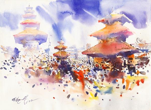 Festival by NB Gurung