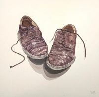 Old Shoes Watercolour