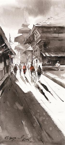 Street 3 mid res by NB Gurung