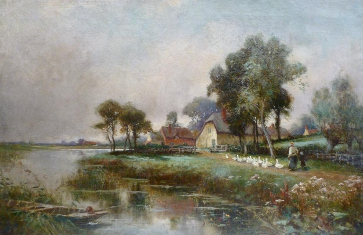 Henry Maurice Page Painting