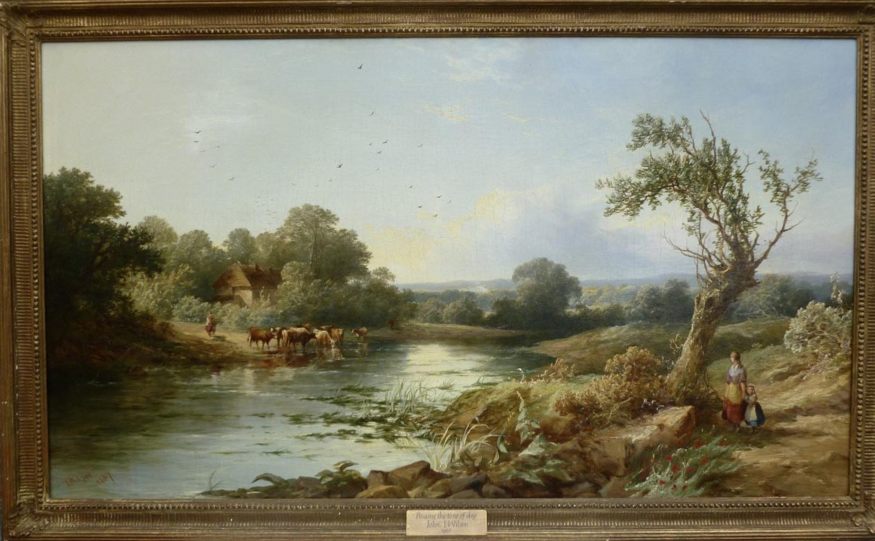 John James Wilson Painting