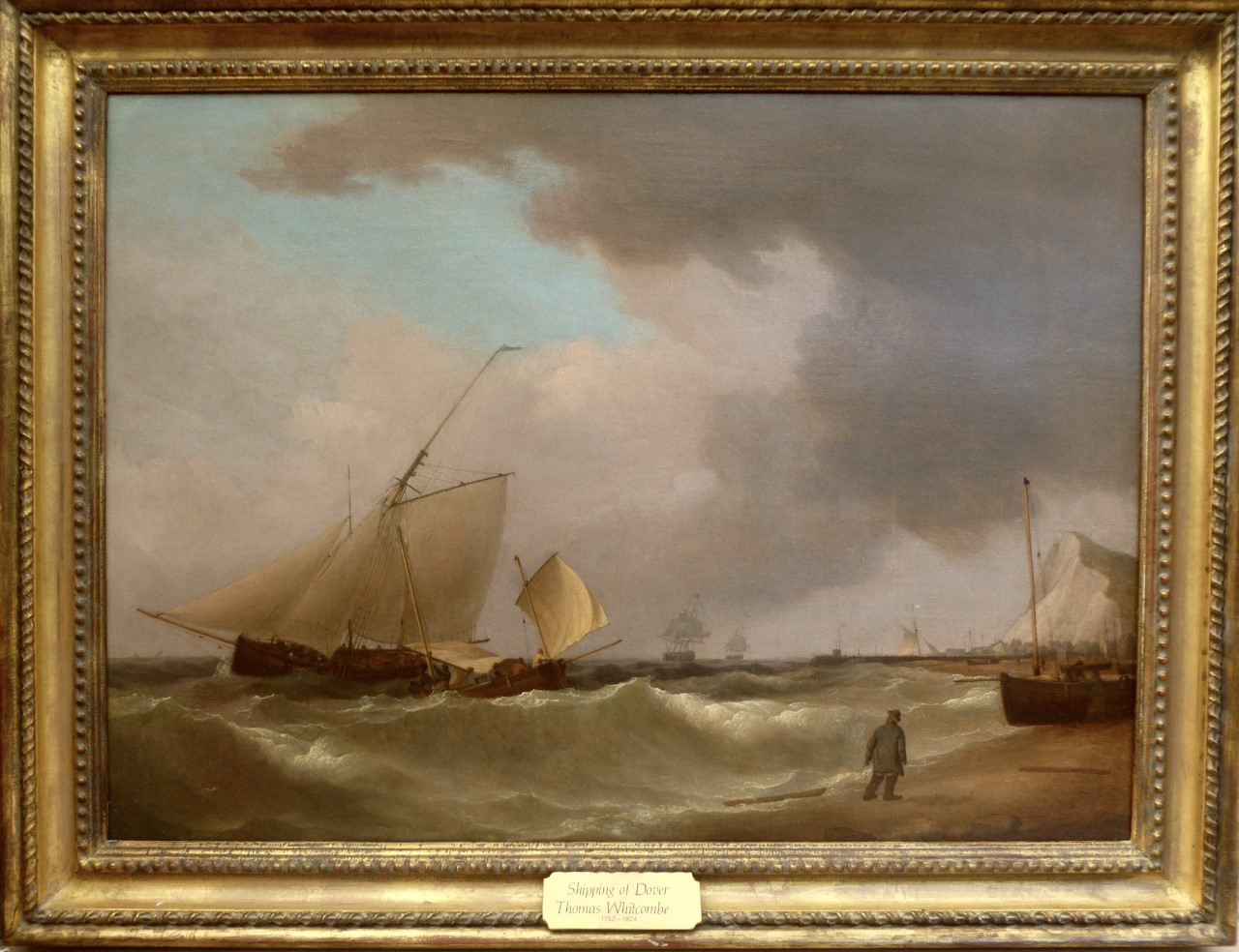 Thomas Whitcombe - Shipping of Dover