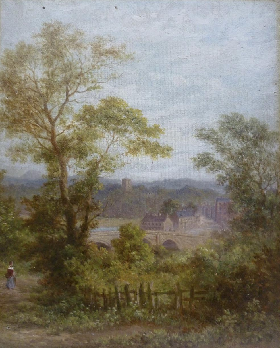 WW Gill Painting