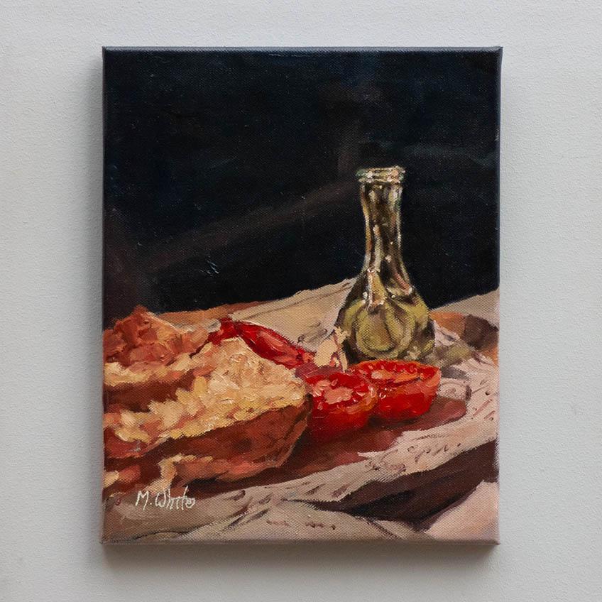 PA AMB TOMAQUET by MAX WHITE 30cm x 25cm £400