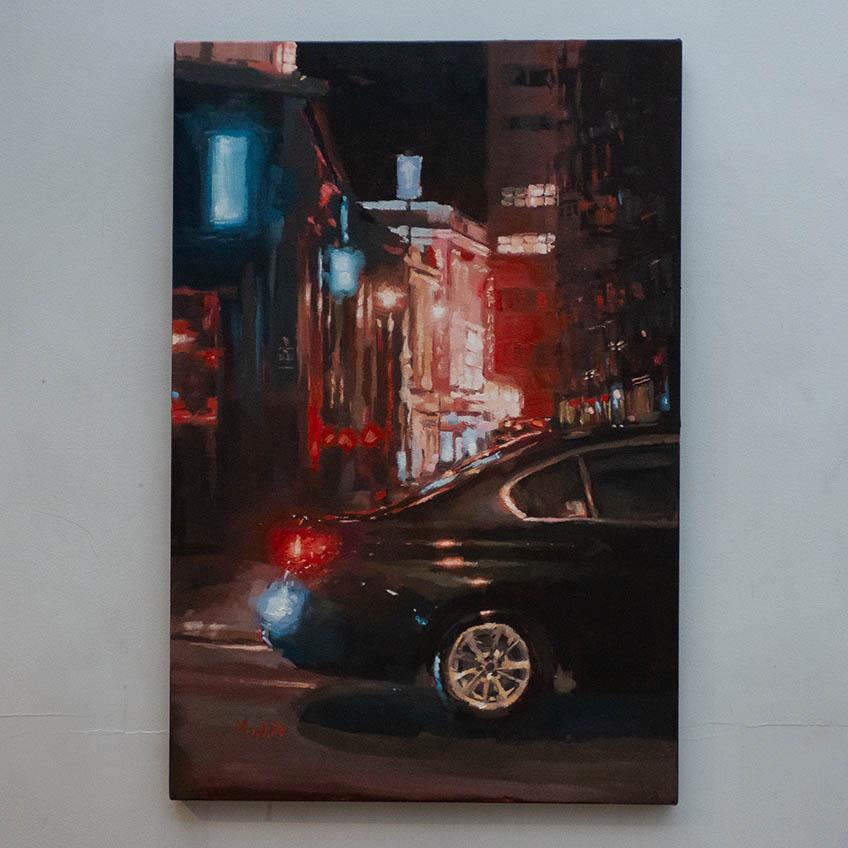 SOHO by MAX WHITE 75cm x 50cm £850