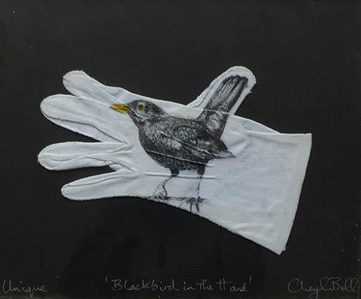 Blackbird in the Hand by Cheryl Bell
