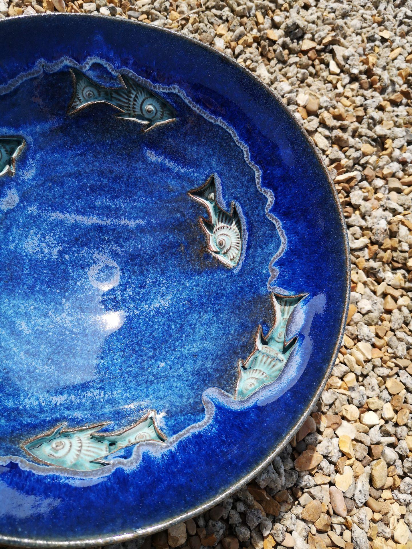 Ammonite Fish by Laura Hollis