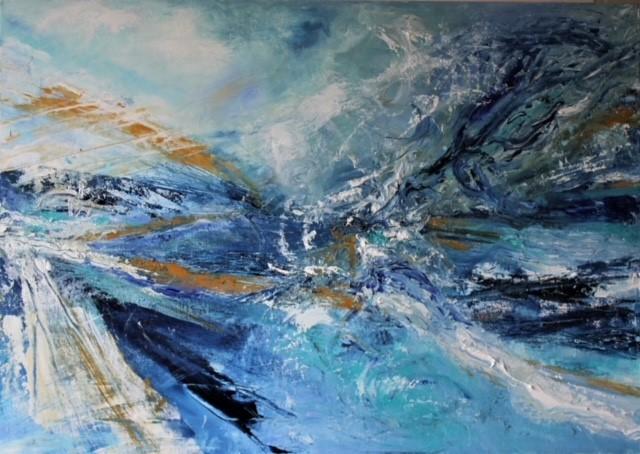 Art, Sea & Sky 2 by Suzy Phillips
