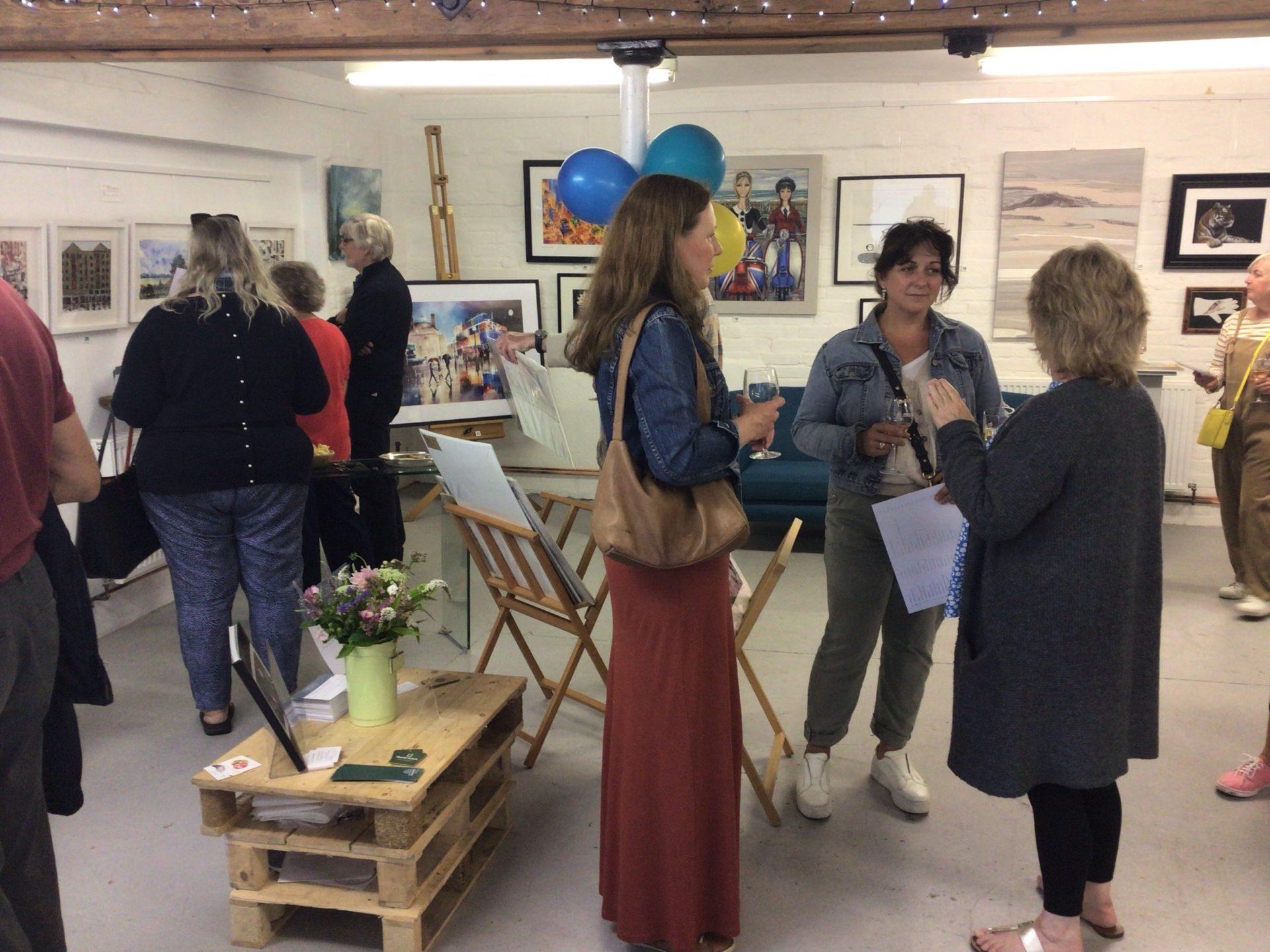 Julie T at The Cranbrook Arts Corner