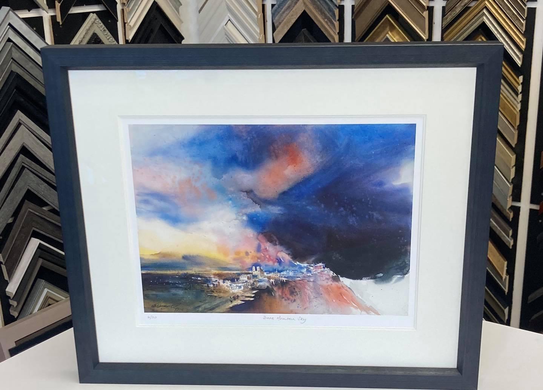 Dark Mountain Sky Giclee print by NB Gurung