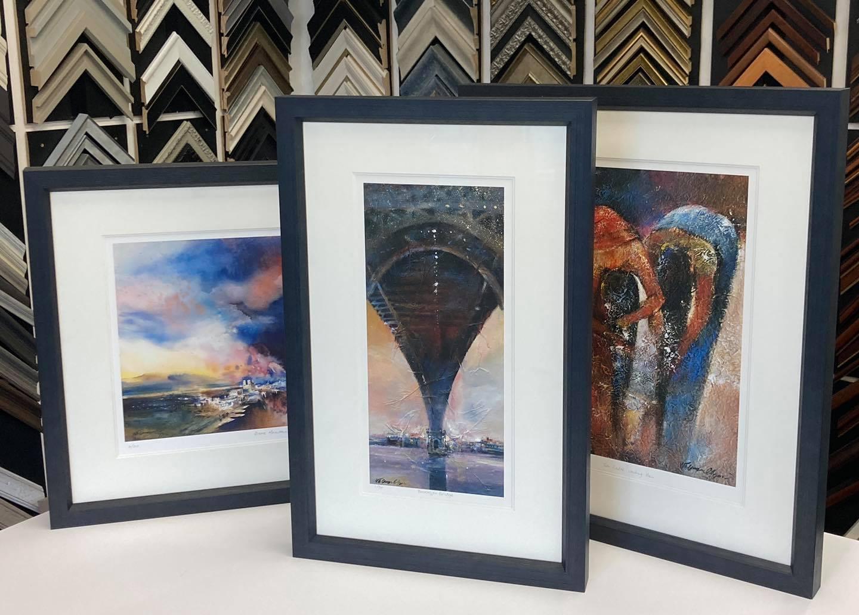 Framed Giclee Prints by NB Gurung